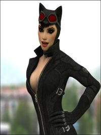 Catwoman for Cinema 4D