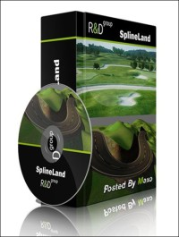 SplineLand v1.037 for 3ds Max 2014 – 2015 x64