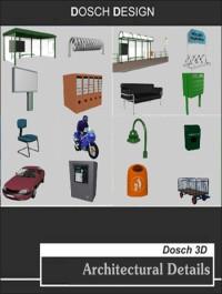 DOSCH DESIGN Architectural Details 3DS