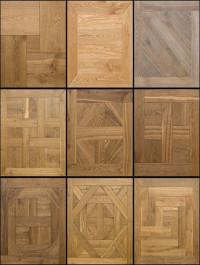 Modular flooring French Style