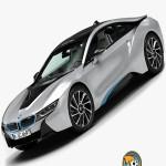 Turbosquid BMW i8 2015 Max Vray