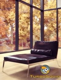 TurboSquid Happy Dormeuse Lounge Chair