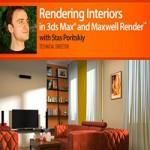 Digital Tutors Creative Development Rendering Interiors in 3DS Max and Maxwell Render with Stas Poritskiy