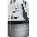 CGAxis Models Volume 59 3D Electronics IV