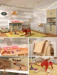 Decorative set for a children No 3