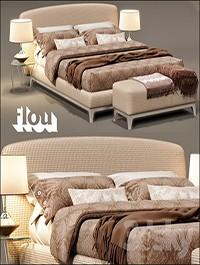 Bed Flou Oliver