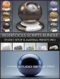SigerShaders VRay Materials Presets Pro & VRay Studio Setup Pro 2.0.1
