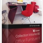 CGAXIS MODELS VOLUME 80 OFFICE FURNITURE II