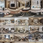 360° INTERIOR DESIGNS 2017 LIVING & DINING, KITCHEN ROOM NEW CHINA STYLES COLLECTION 1