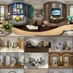 360° INTERIOR DESIGNS 2017 LIVING & DINING, KITCHEN ROOM NORDIC STYLES COLLECTION 1