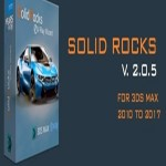 SolidRocks 2.0.5 for 3ds Max 2010 – 2017