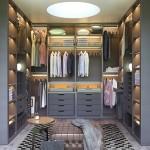 Poliform SENZAFINE walk-in closet