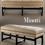 Bench minotti flynt bench
