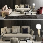 Minotti Grand Jacques Sofa Set