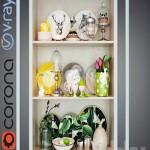 Decorative composition 06 / decorative set 06