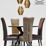 Baxter table LIQUID LUNCH, LEVANTE chair, lamp GUGGIE