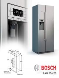Refrigerator Bosch KAG 90AI20
