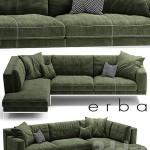 Sofa ERBA ITALIA EDIZIONE Sectional sofa