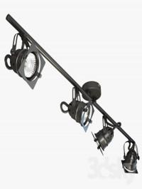 Lussole LOFT Technical lighting 3d Model
