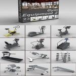 DigitalXModels – 3D Model Collection – Volume 20: GYM EQUIPMENT 2