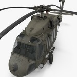 Sikorsky UH-60 Black Hawk US Military Utility Helicopter