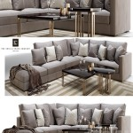 Henley modular sofa and side coffee table