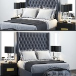 Restoration Hardware Zadie Tufted Bed