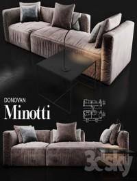 Sofa Minotti DONOVAN