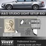 A&G Studio Lighting Setup Pro 1.5 for 3ds Max