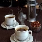 Coffee and coffee maker