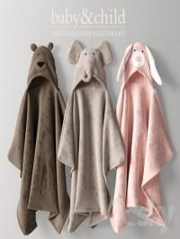 RH ANIMAL HOODED TOWELS