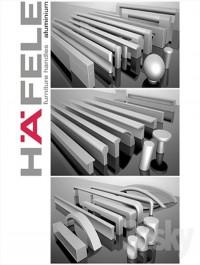 Hafele handles Aluminium