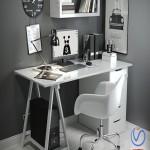 Desk in the Scandinavian style