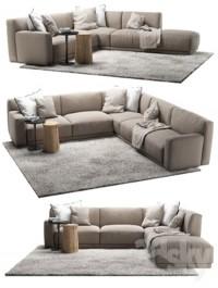 Poliform Paris Seoul sofa 4