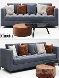 Minotti ANDERSEN QUILT Sofa