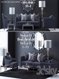 The Sofa & Chair Company Set 4