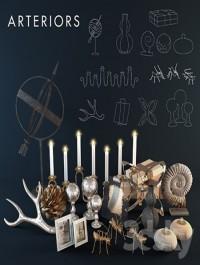 Arteriors decoration set