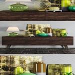 Decorative console tables