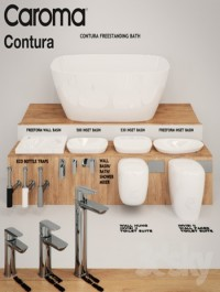Caroma Contura Collection