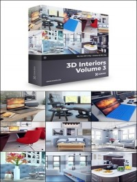 CGAxis 3D Interiors Collection Volume 3