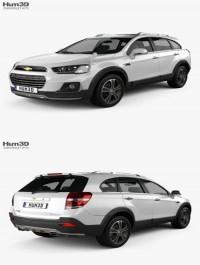 Chevrolet Captiva (JP) 2015 3D Model