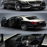Turbosquid 3D 2019 Mercedes-Benz S-Class Maybach