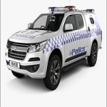 Hum3D – Holden Colorado Space Cab Divisional Van 2018