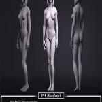 Female BaseMesh – Eve – ZTool 4R8