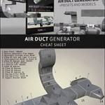The Pixel Lab Air Duct Generator for Cinema 4D