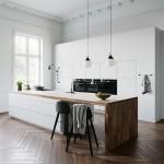 Cgtrader White Kitchen by Kvik 3D model