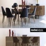 Roche bobois, ASTER, TOURNICOTI, PALIS SIDEBOARD, AIRE SUSPENSION