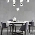 Poliform Concorde Table & Grace Chair 2