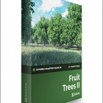Fruit Trees 3D Models Collection – CGAxis Volume 105