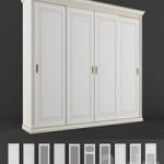 4-door wardrobe. Rossta furniture.